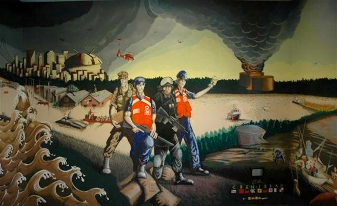retouched Katrina mural